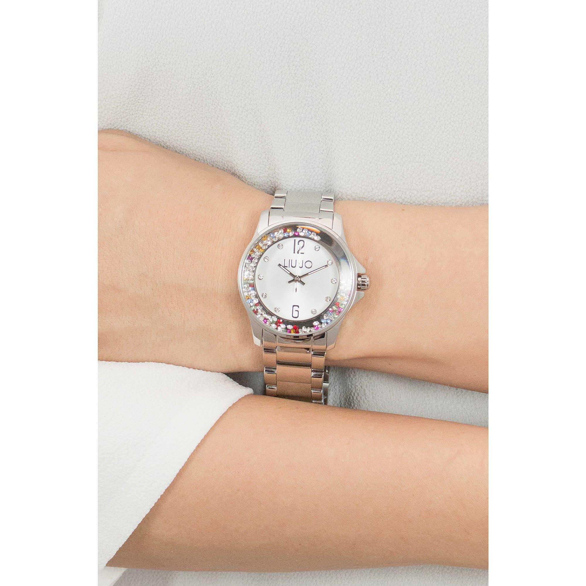320328e01af56 orologio solo tempo donna Liujo Dancing TLJ1003 solo tempo Liujo