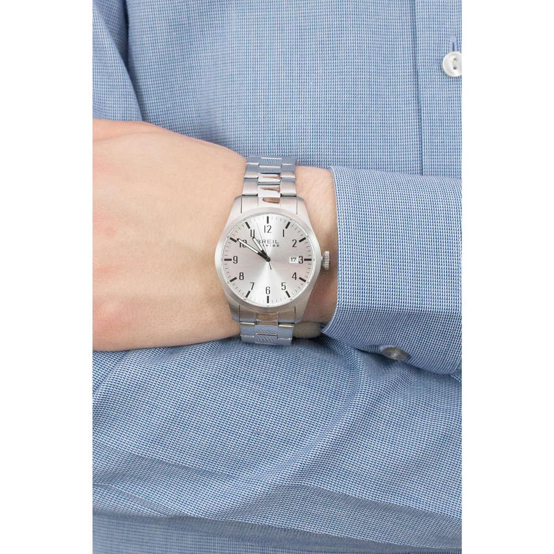 Breil solo tempo Classic Elegance Extension uomo EW0231 indosso