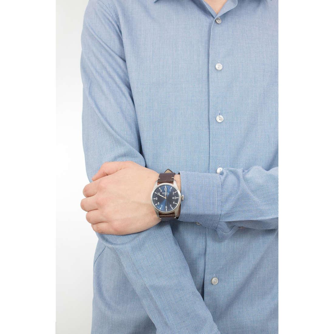 Breil solo tempo Classic Elegance Extension uomo EW0234 indosso