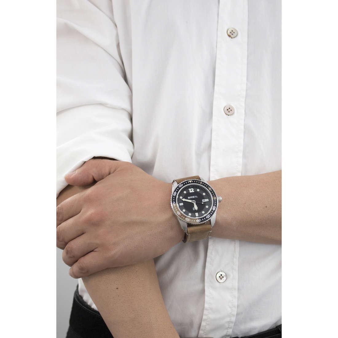 Breil solo tempo Oceano uomo TW1422 indosso