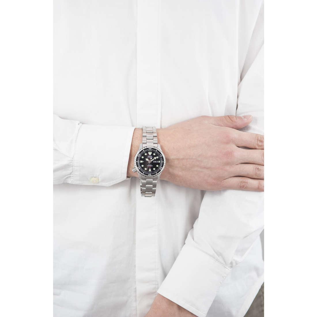 Citizen solo tempo Promaster uomo NY0040-50E indosso