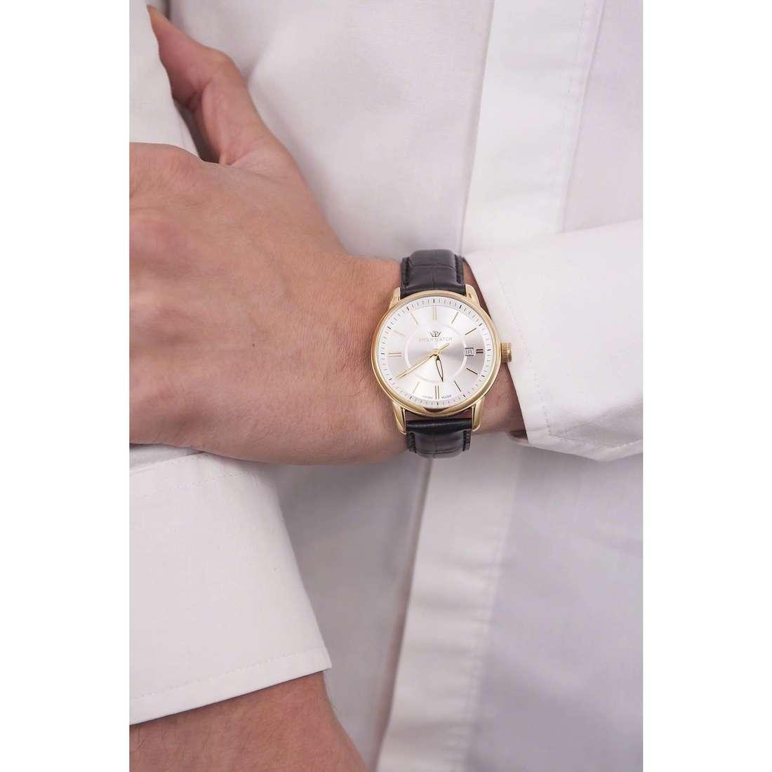 Philip Watch solo tempo Kent uomo R8251178009 indosso