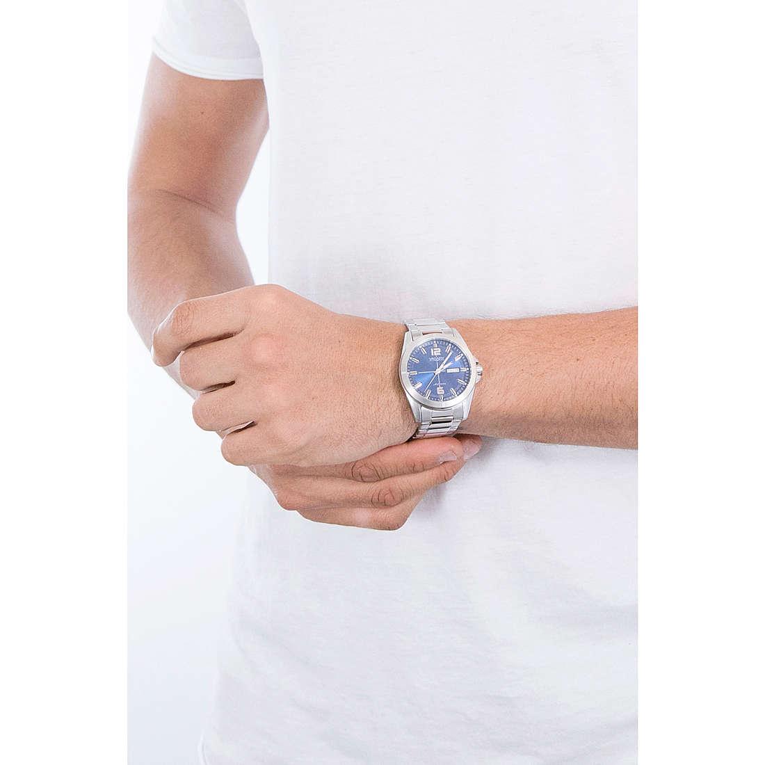orologio solo tempo uomo Vagary By Citizen Gear Matic 101 IX3 017 71