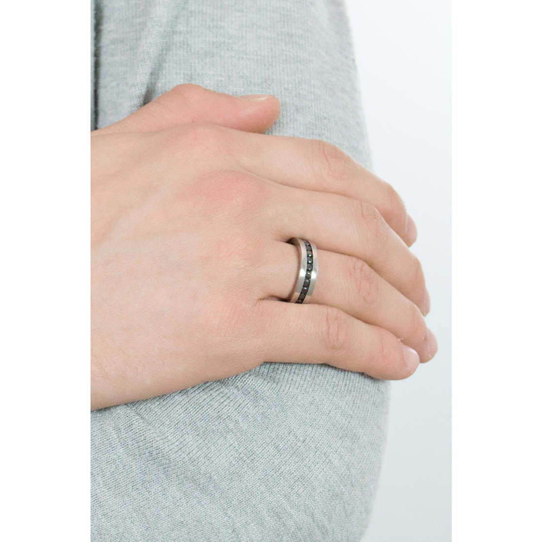 Luca Barra rings man LBAN108.21 indosso