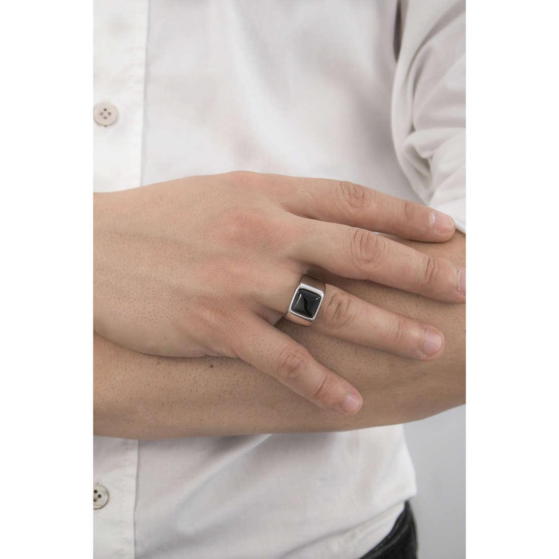 Marlù rings Man Trendy man 4AN0135N-20 indosso