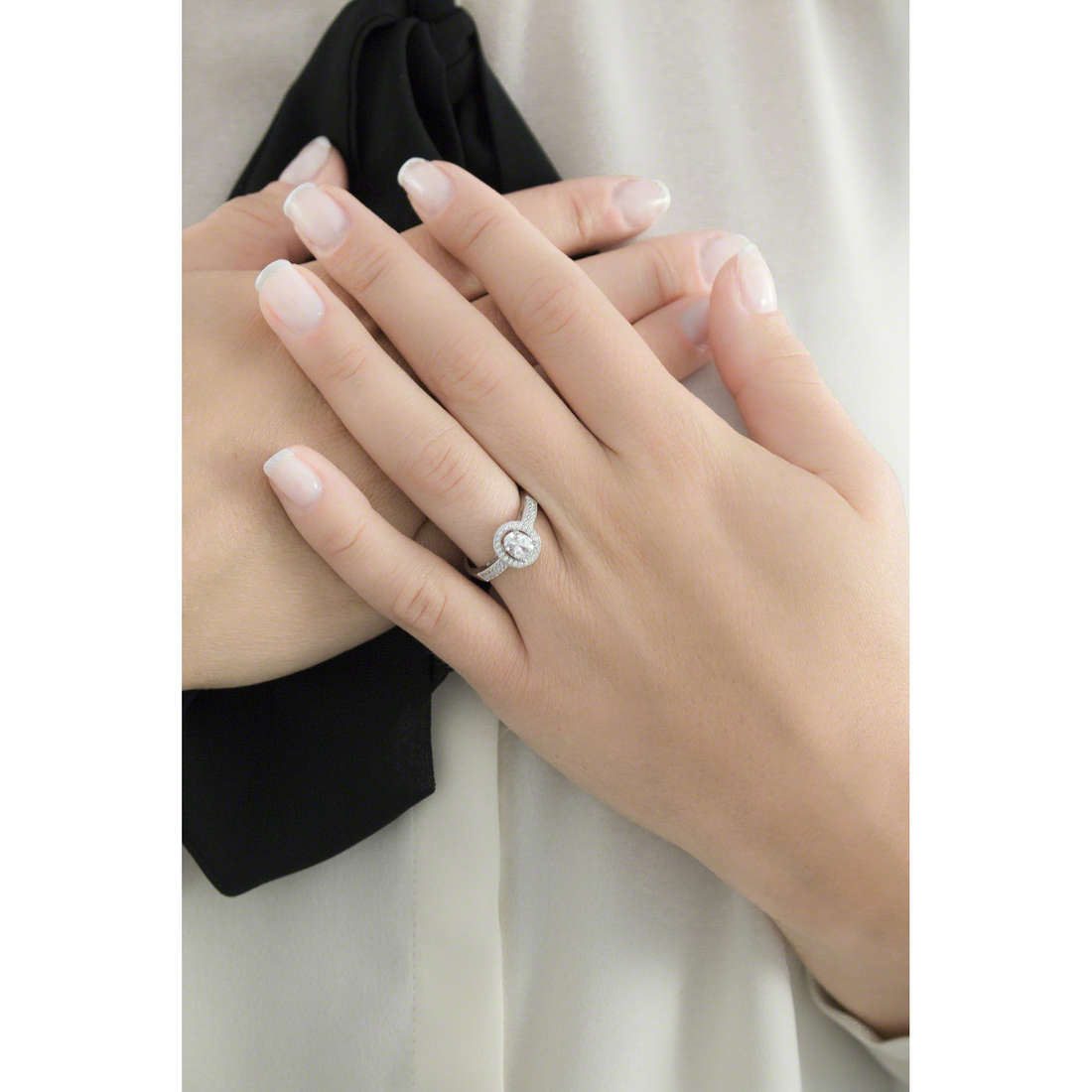 Ambrosia rings woman AAA 019 S indosso