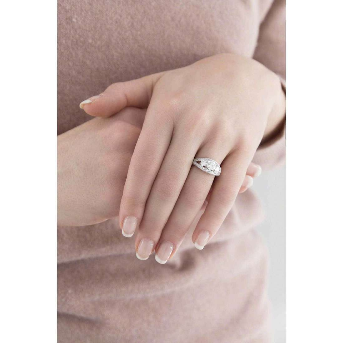 Ambrosia rings woman AAA 020 M indosso