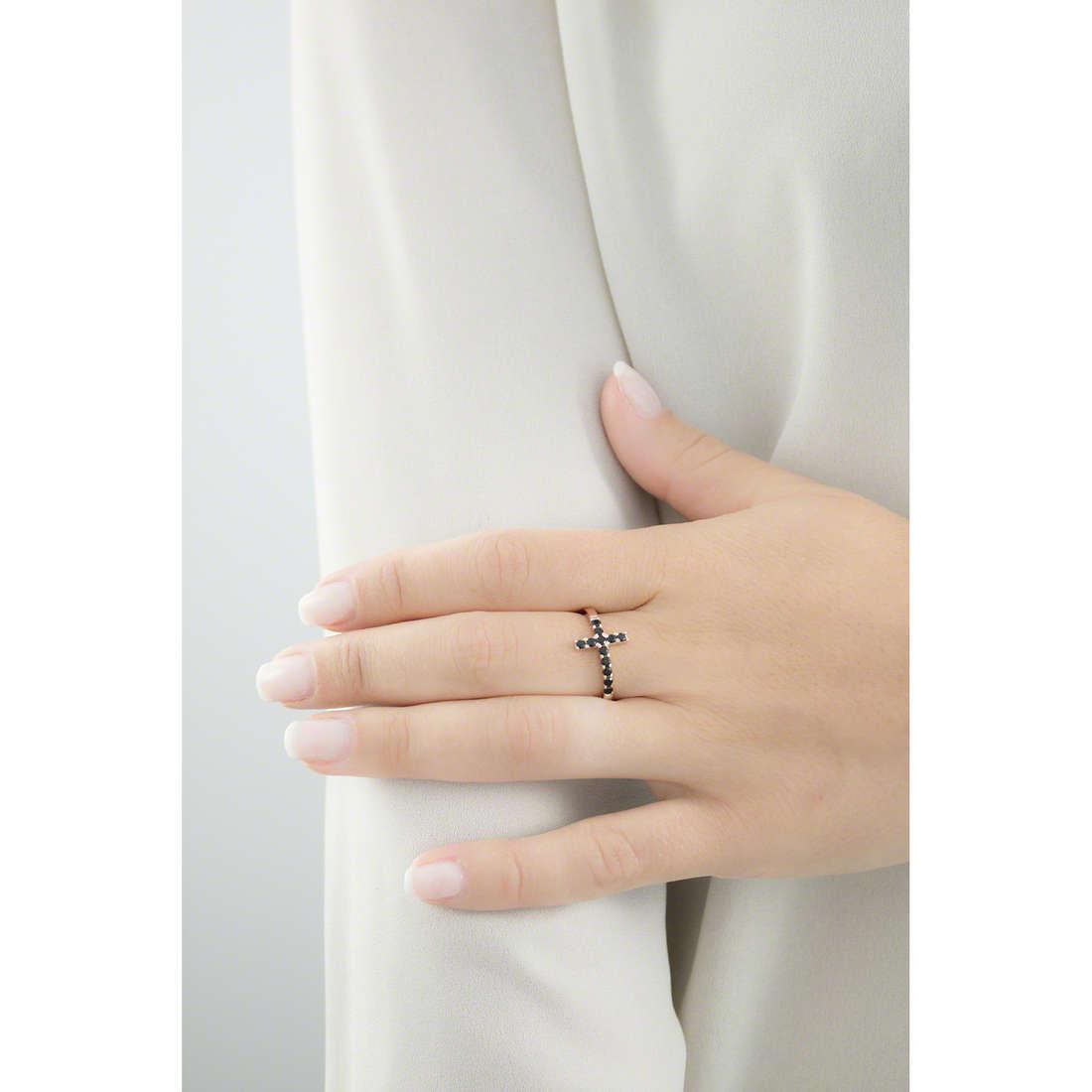 Amen rings Croce woman ACORN-18 indosso