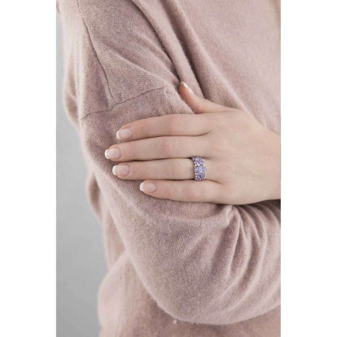 Bliss rings Felicity woman 20064026 indosso