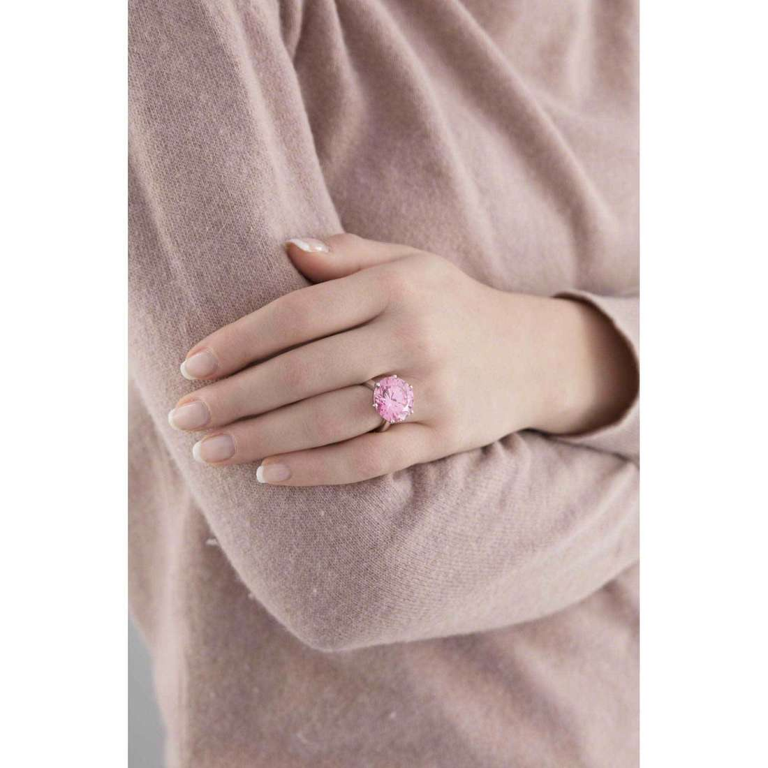 Bliss rings True Love woman 20057662 indosso