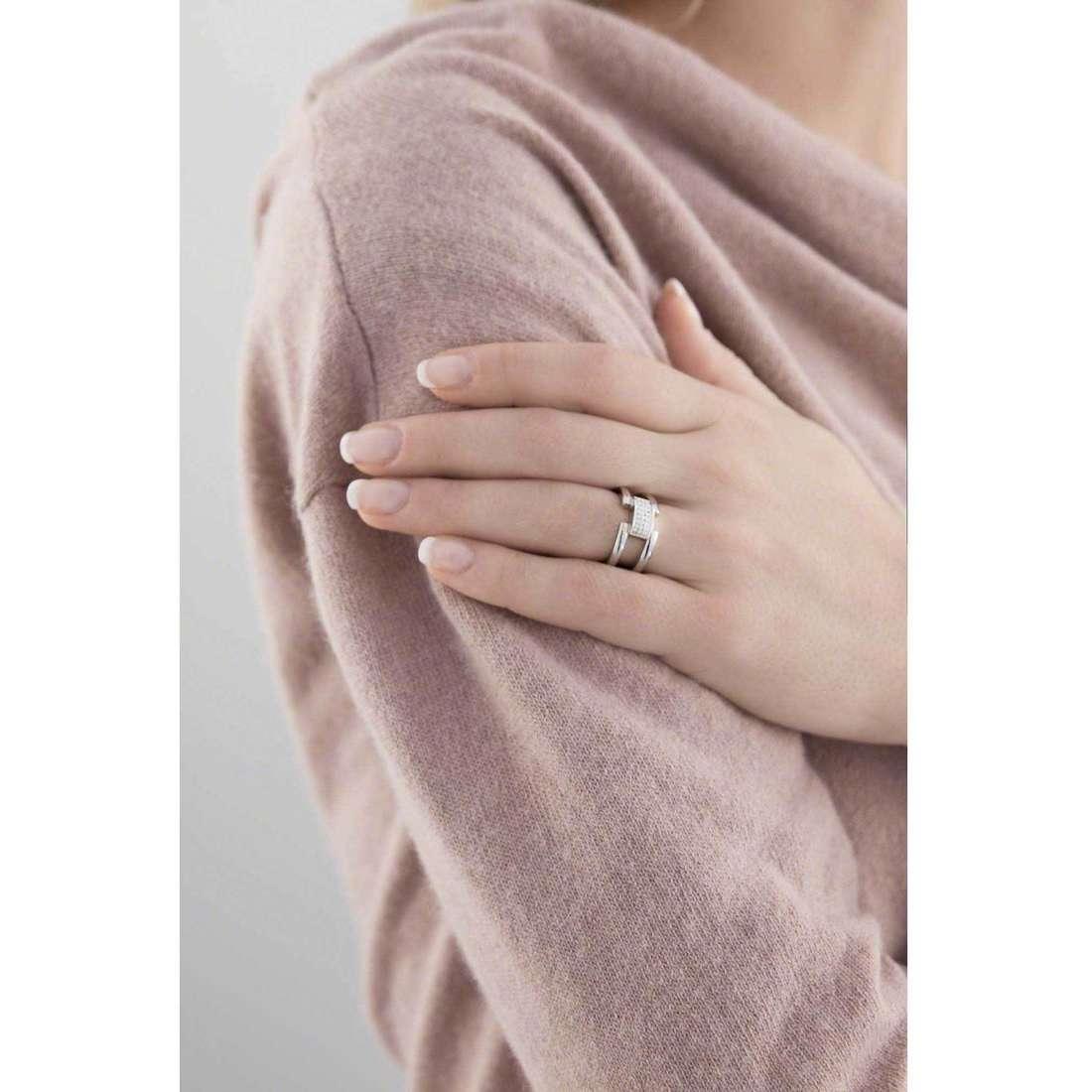 Breil rings Breilogy woman TJ1638 indosso