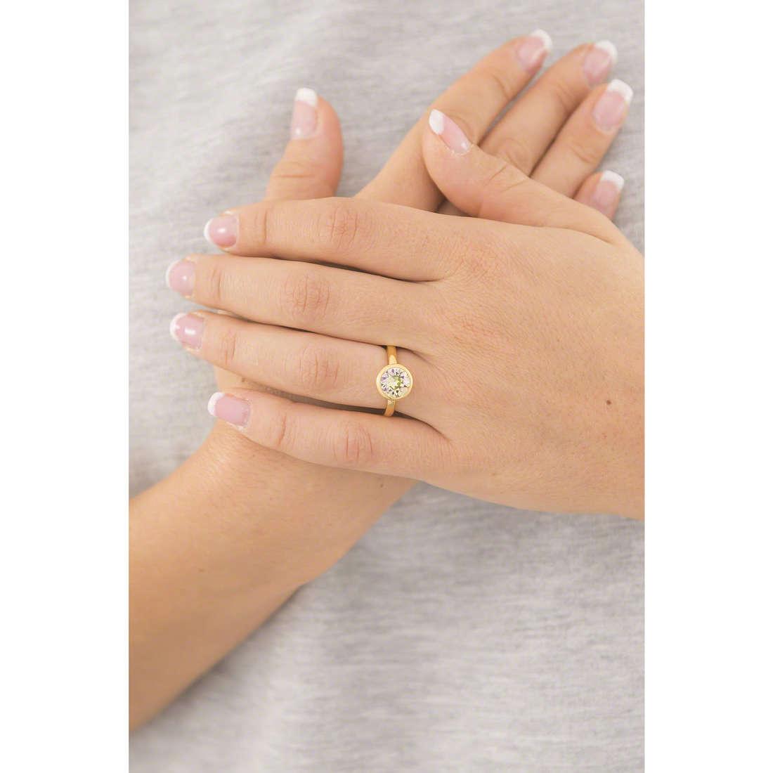 Brosway rings Btring woman BTGC87B indosso
