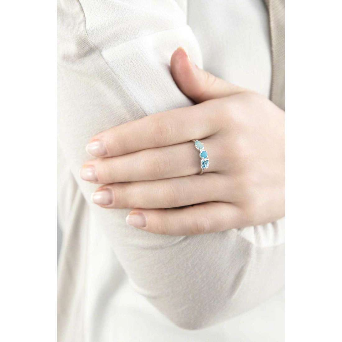 Brosway rings COLORI woman G9CL33A indosso