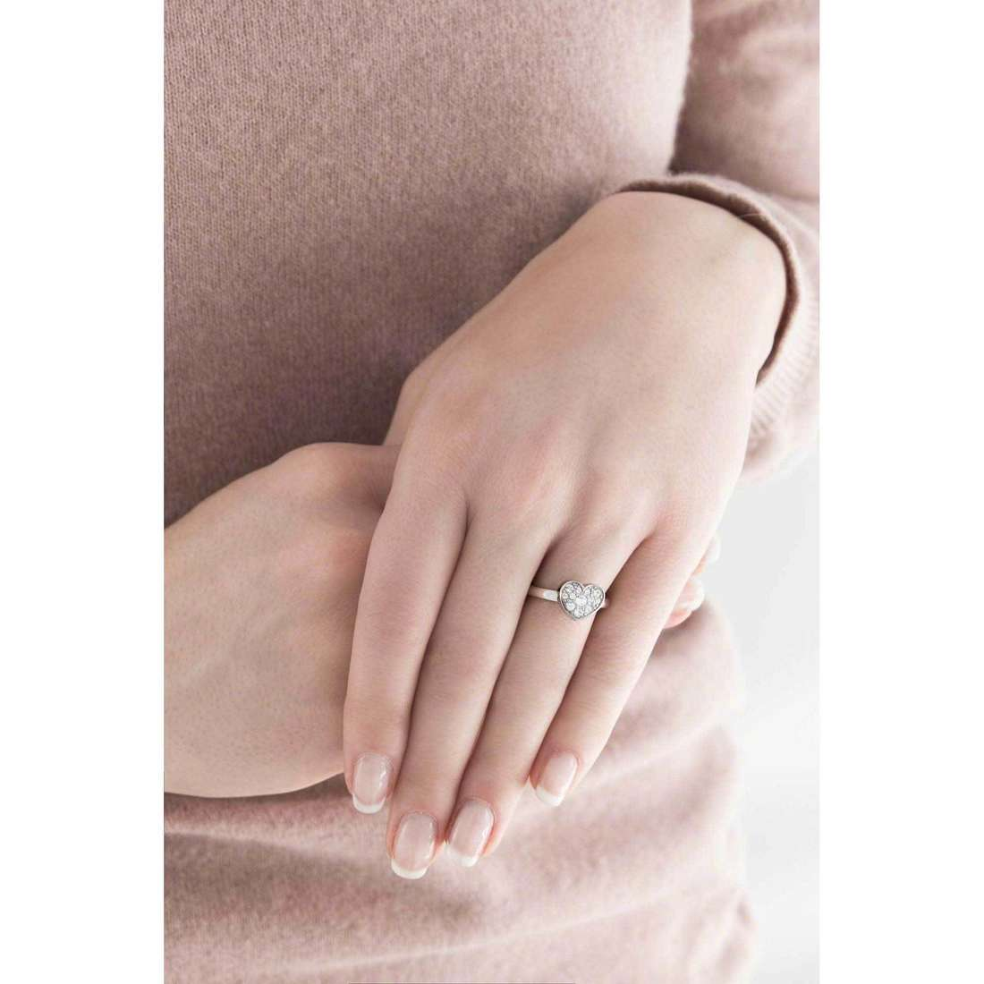 Brosway rings Tring woman BTGC128B indosso