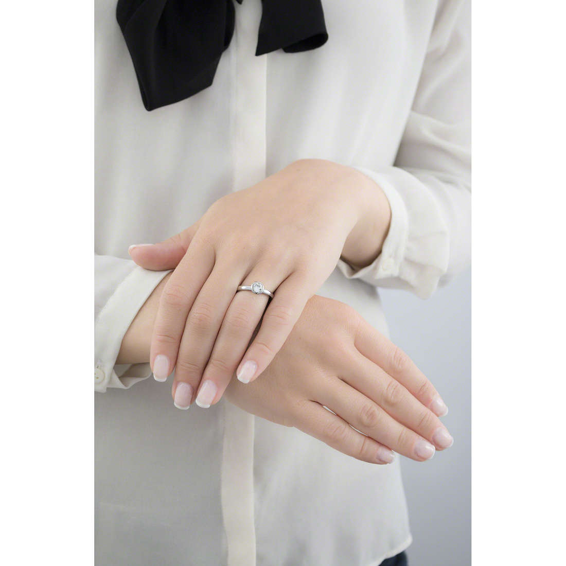 Brosway rings Tring woman BTGC31B indosso