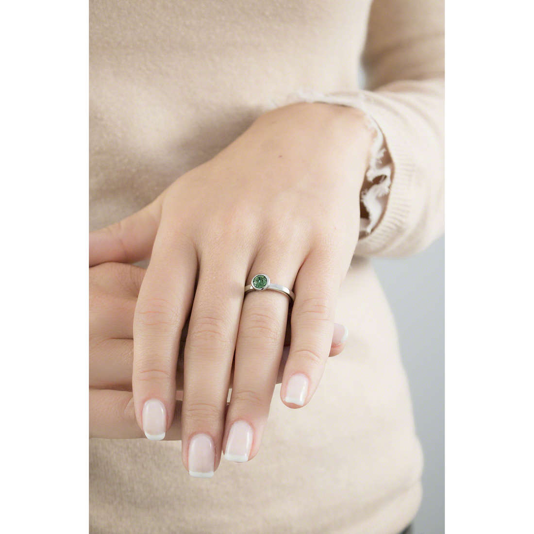 Brosway rings Tring woman BTGC38B indosso
