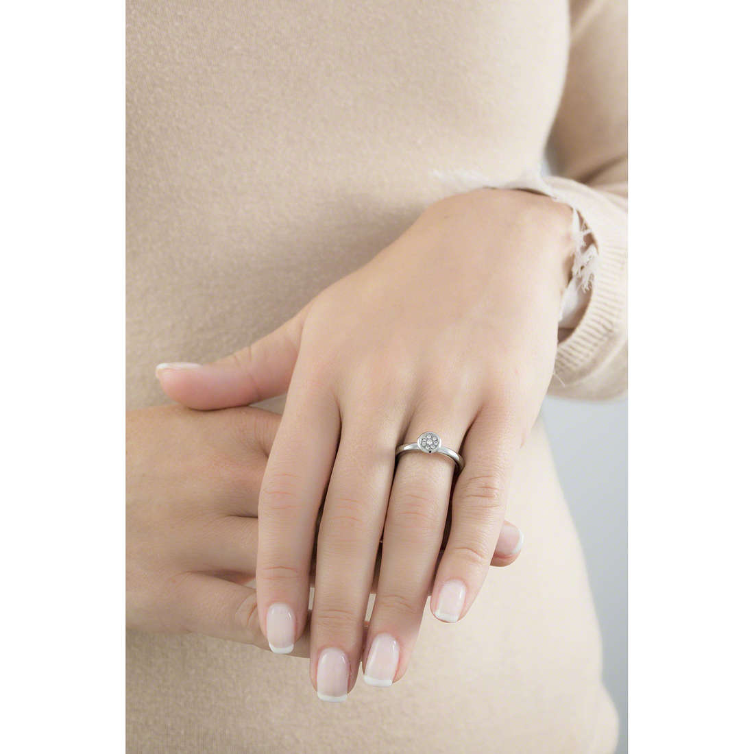 Brosway rings Tring woman BTGC40B indosso