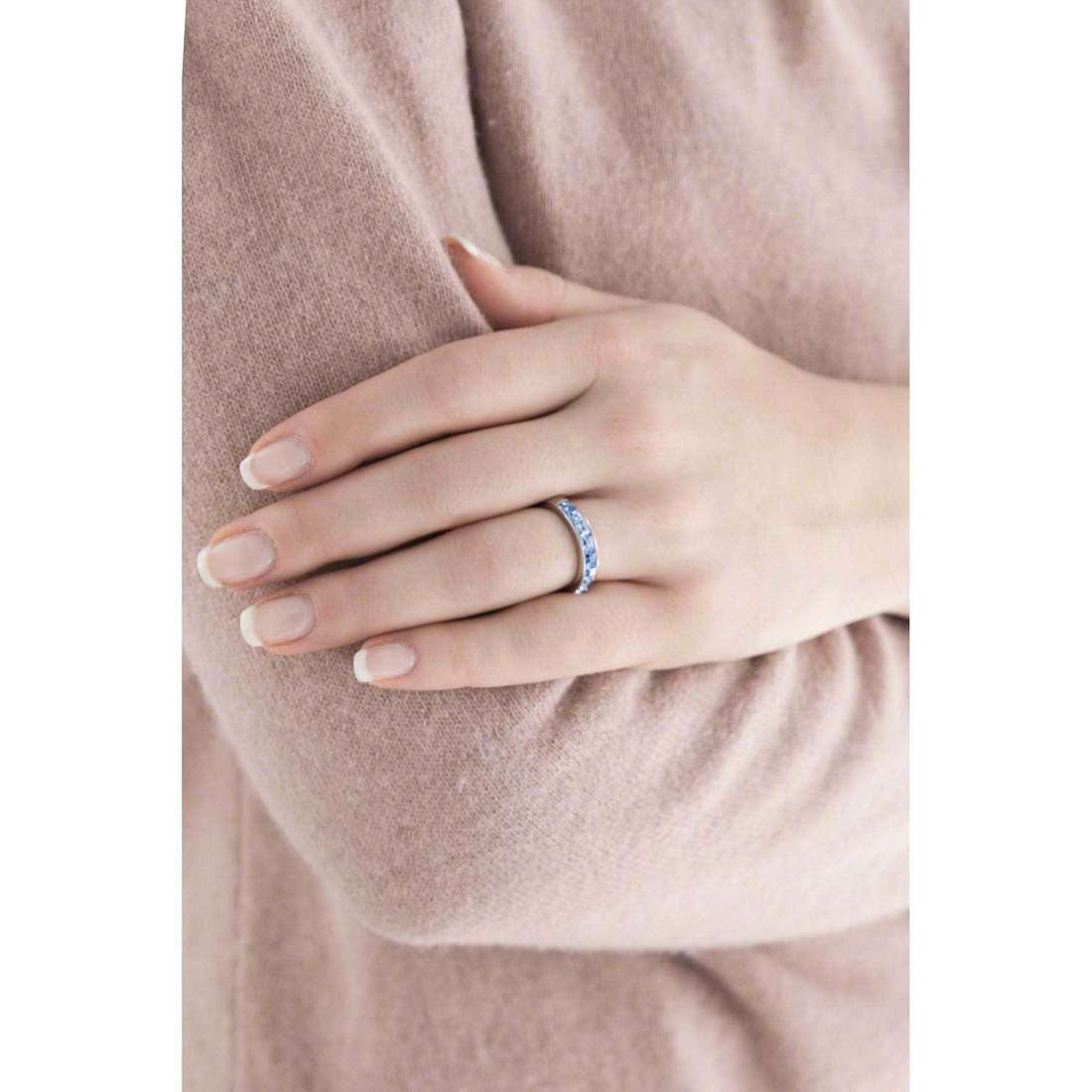 Brosway rings Tring woman BTGC49B indosso