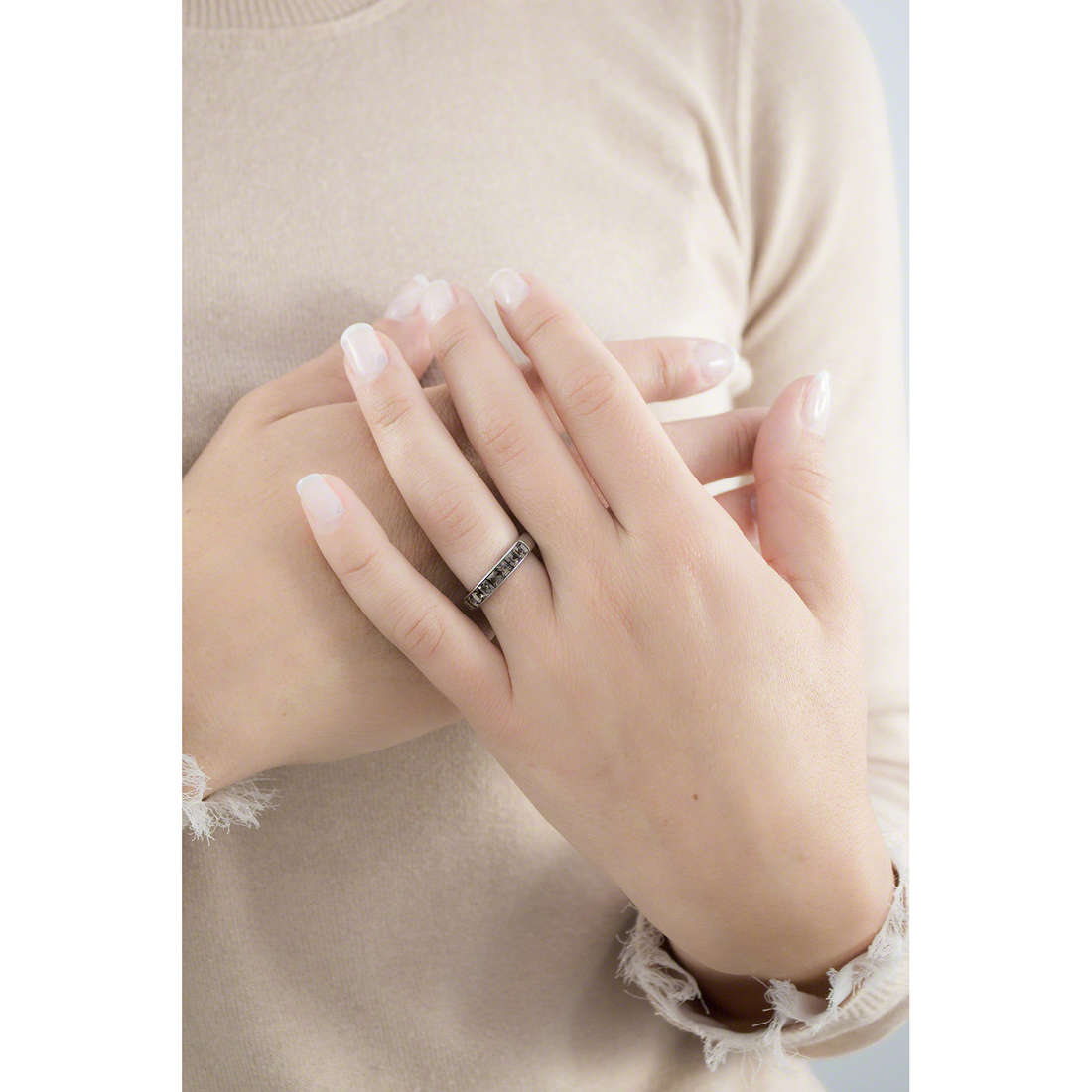 Brosway rings Tring woman BTGC51B indosso