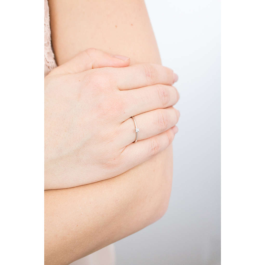 Comete rings Easy Basic woman ANB 1675 photo wearing