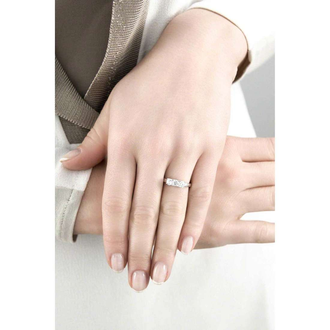 GioiaPura rings woman 21279-01-18 indosso