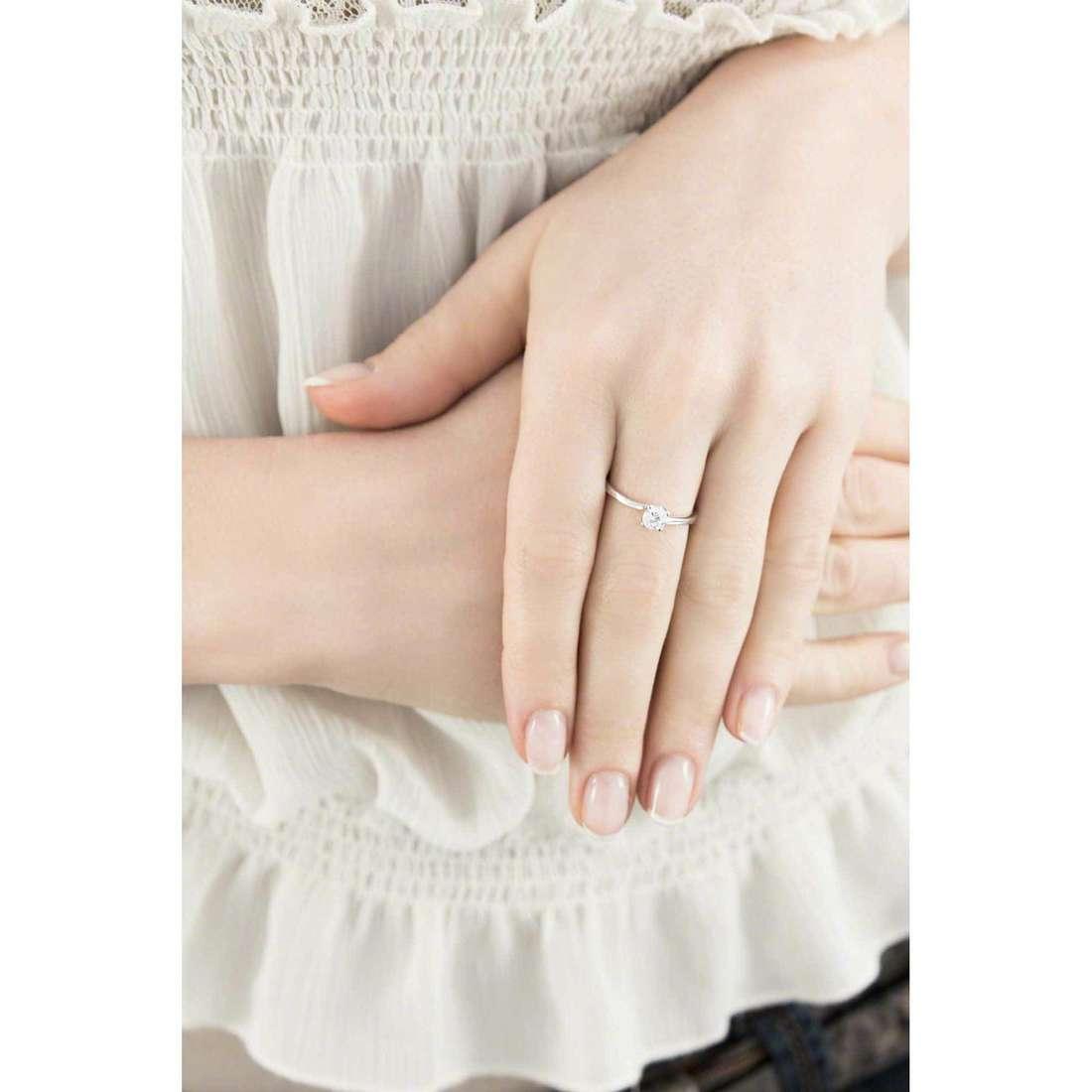GioiaPura rings woman 33182-01-12 indosso