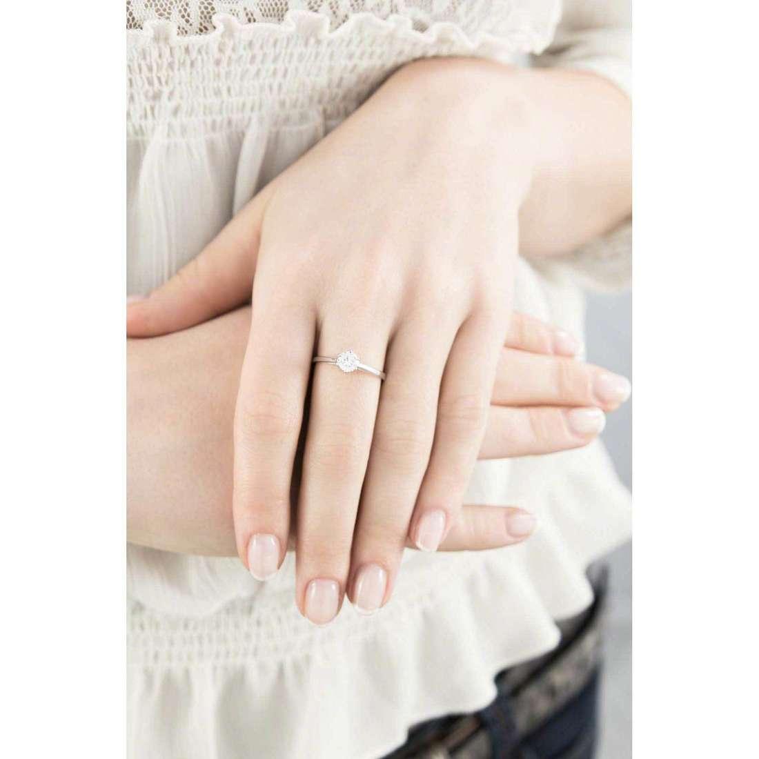 GioiaPura rings woman 33565-01-12 indosso