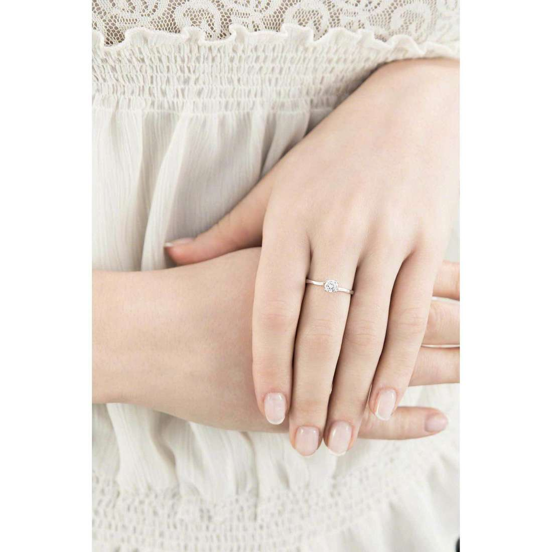 GioiaPura rings woman 33607-01-14 indosso
