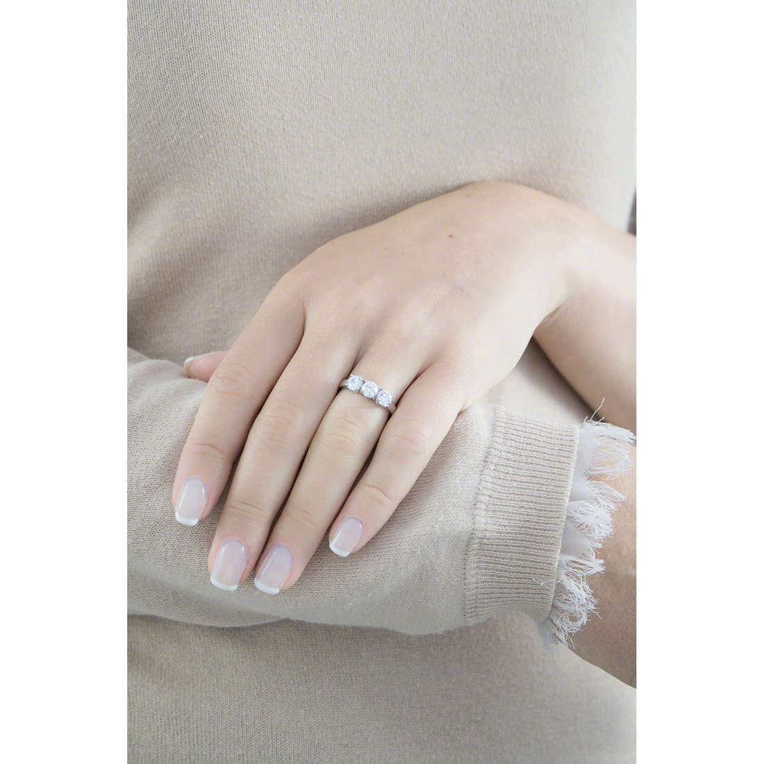 GioiaPura rings woman 34194-01-18 indosso