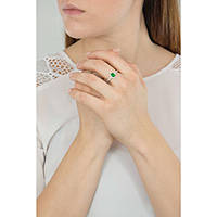 ring woman jewellery GioiaPura GPSRSAN1712-18-VE