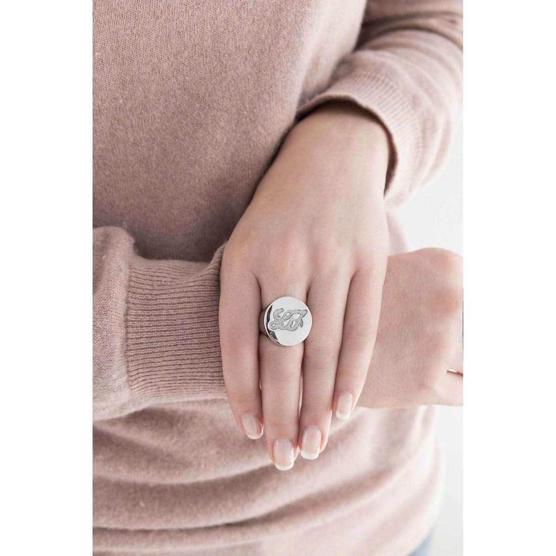 Liujo rings Destini woman LJ894 indosso