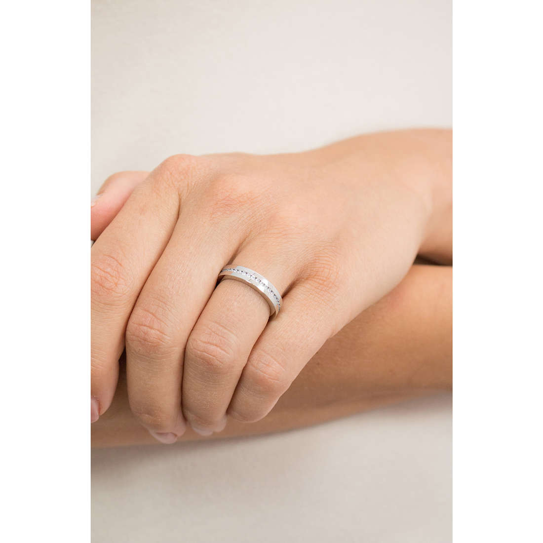 Luca Barra rings woman LBAN114.19 photo wearing