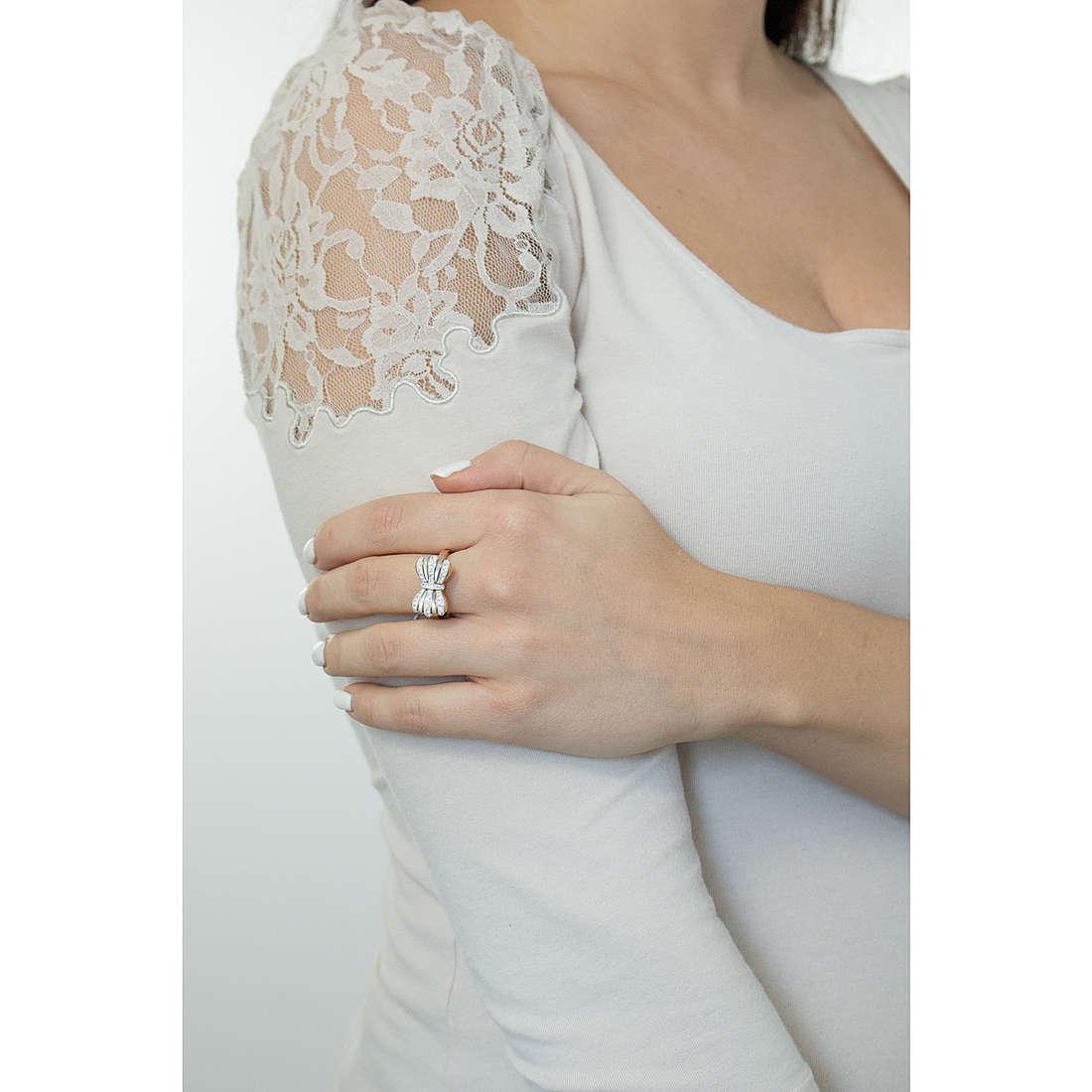 Luca Barra rings woman LBANK104.15 photo wearing