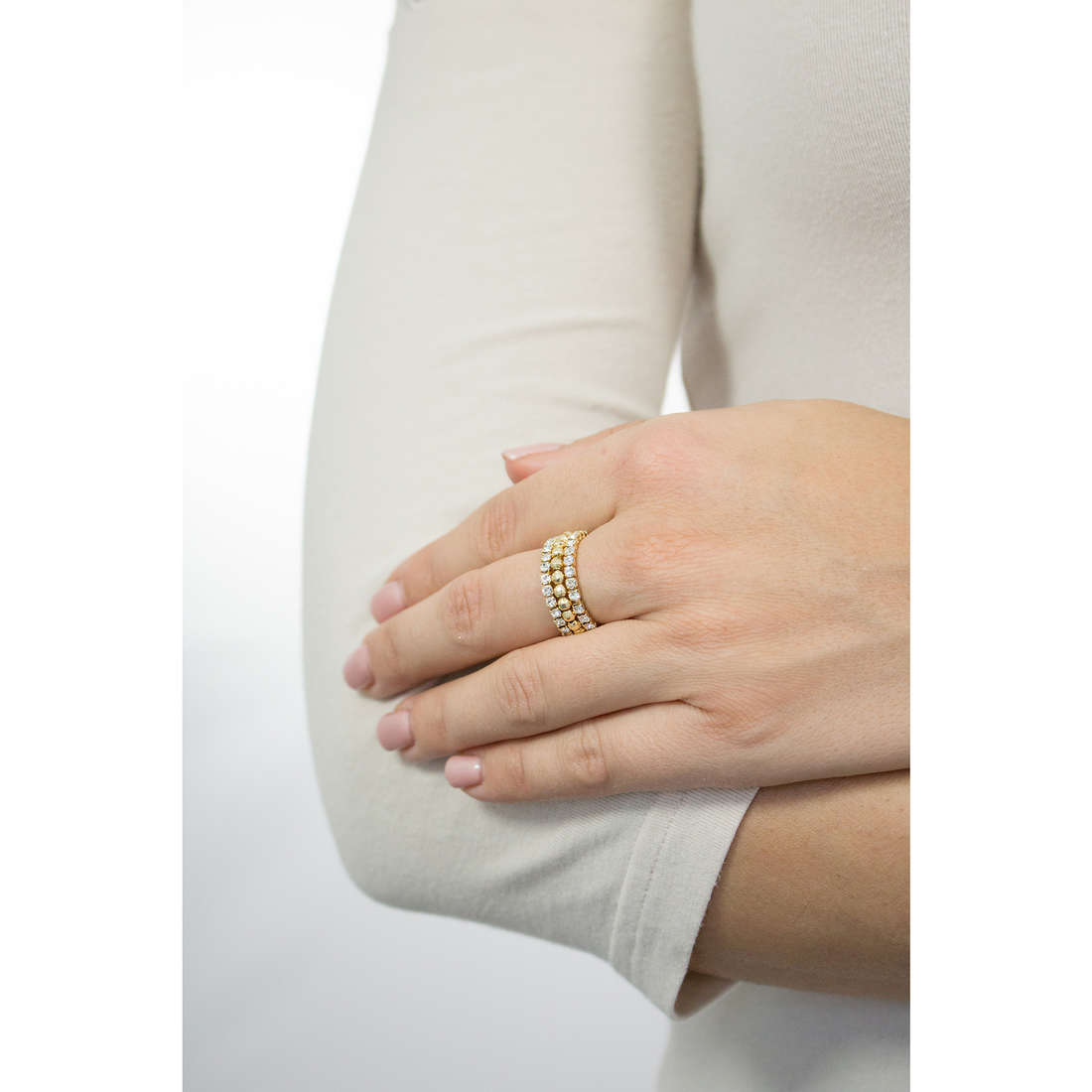 Luca Barra rings woman LBANK111 photo wearing