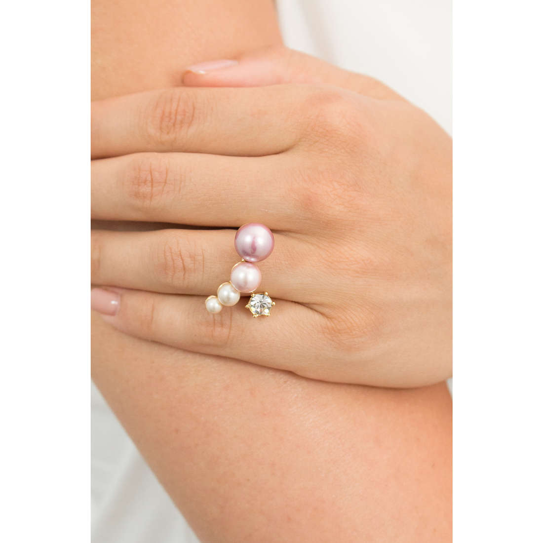 Luca Barra rings woman LBANK71 indosso