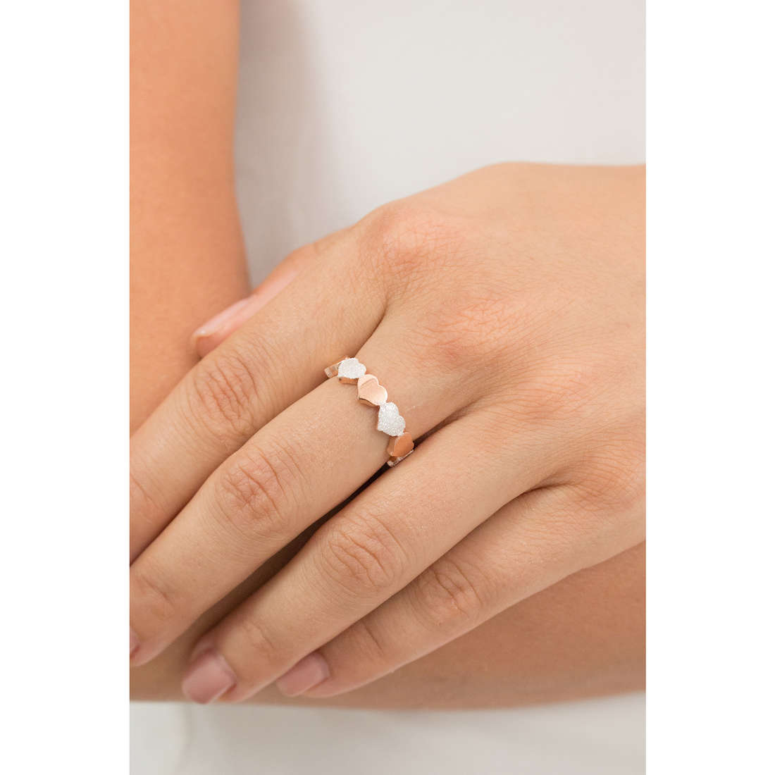 Luca Barra rings Pretty Moment woman LBANK149.17 photo wearing