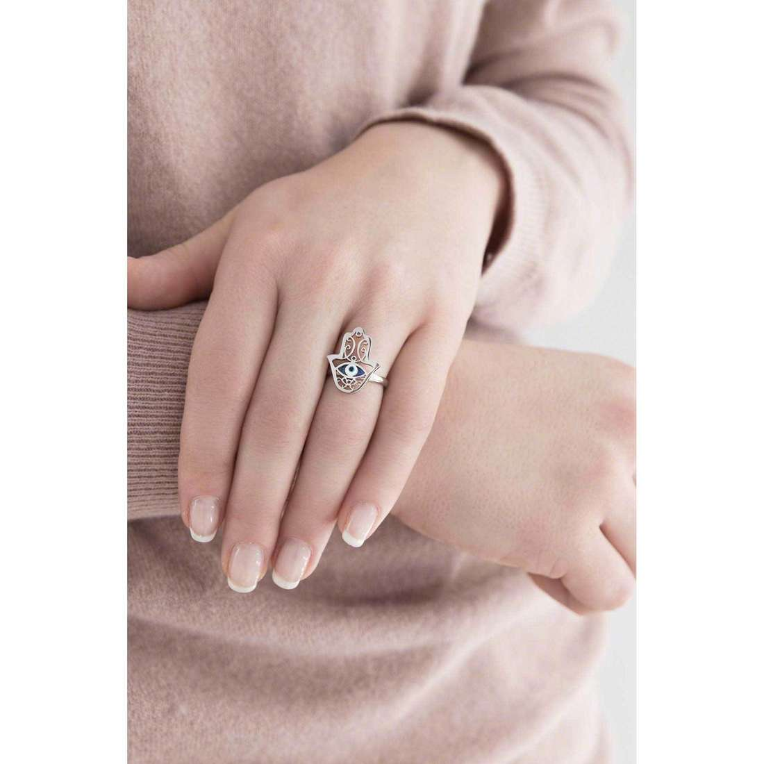 Marlù rings Segni woman 14AN035-M indosso