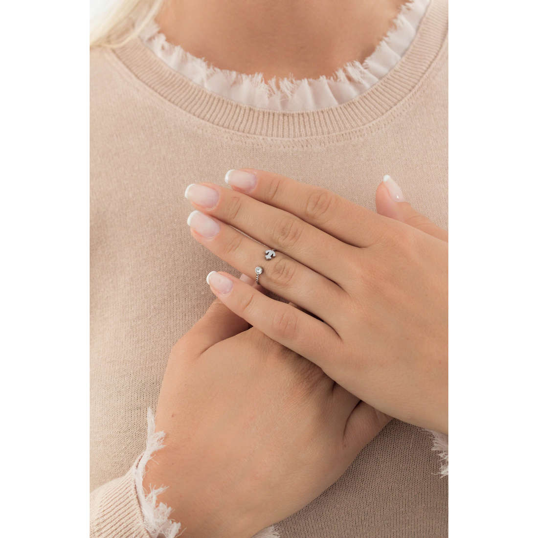 Marlù rings Time To woman 18AN036-F indosso