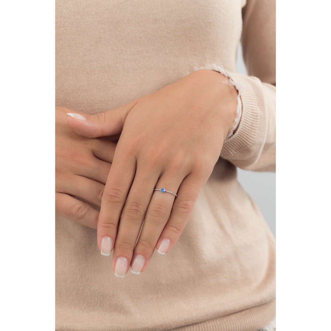 Marlù rings Time To woman 18AN046B-S indosso