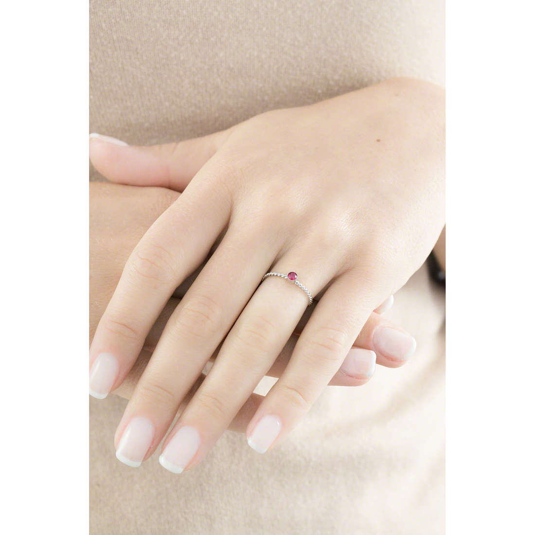 Marlù rings Time To woman 18AN046R-M indosso