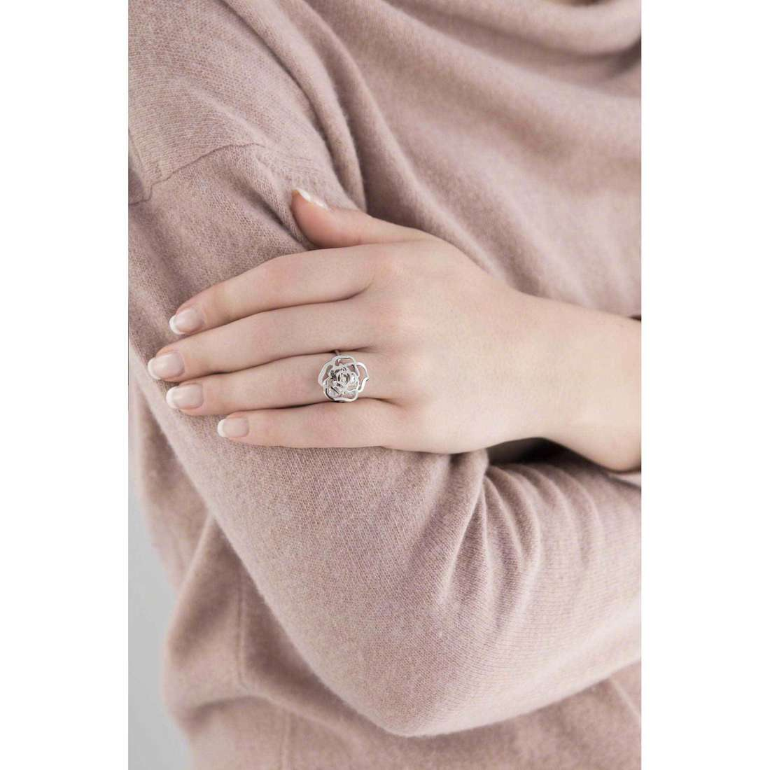 Marlù rings Woman Chic woman 2AN0026-S indosso