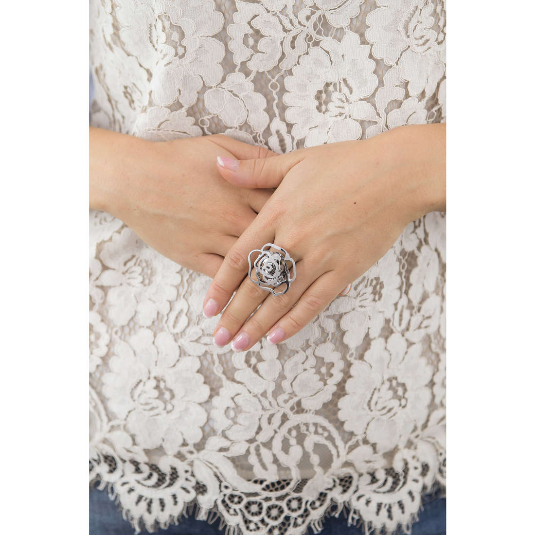 Marlù rings Woman Chic woman 2AN0027-M indosso