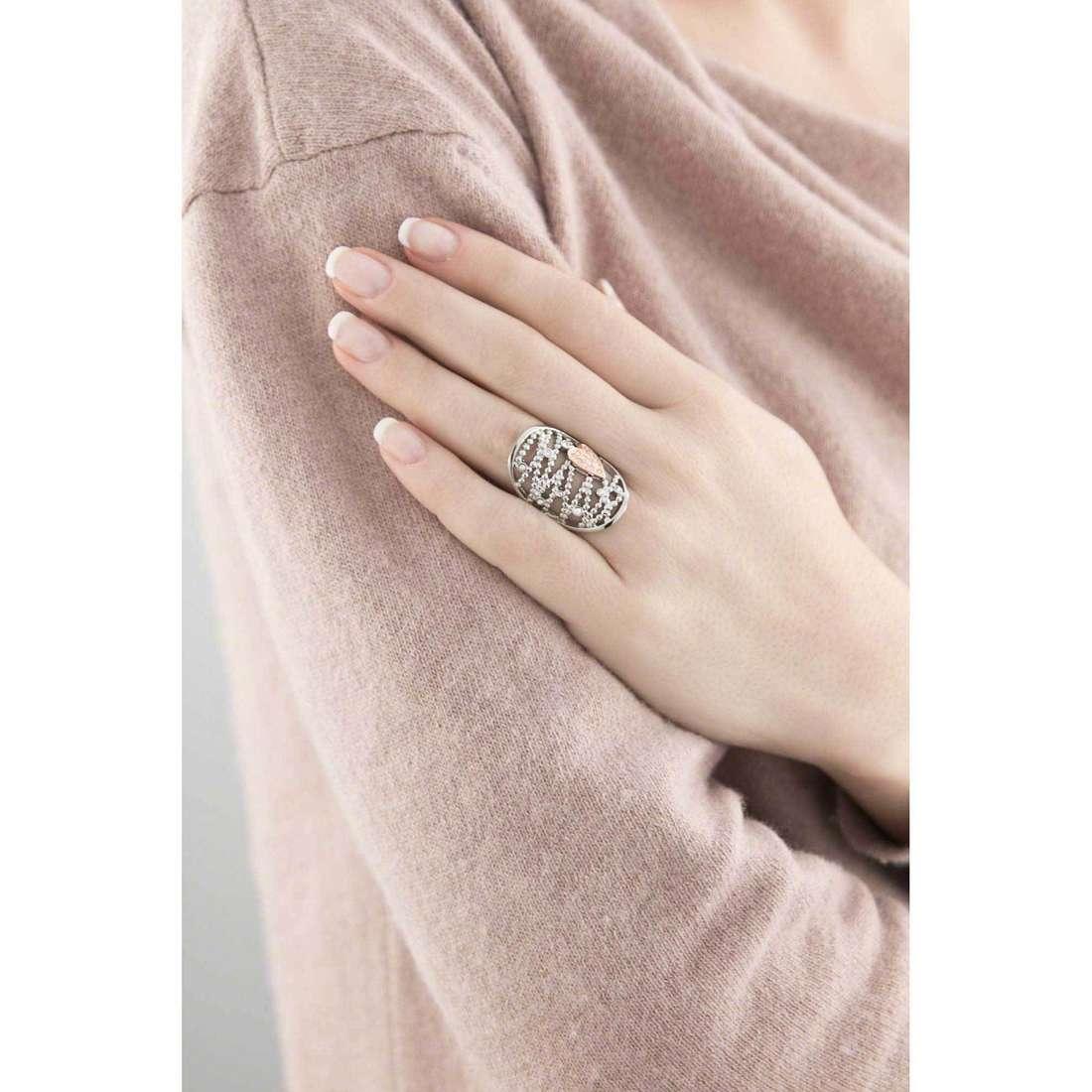 Morellato rings Cuore Mio woman SADA09018 indosso