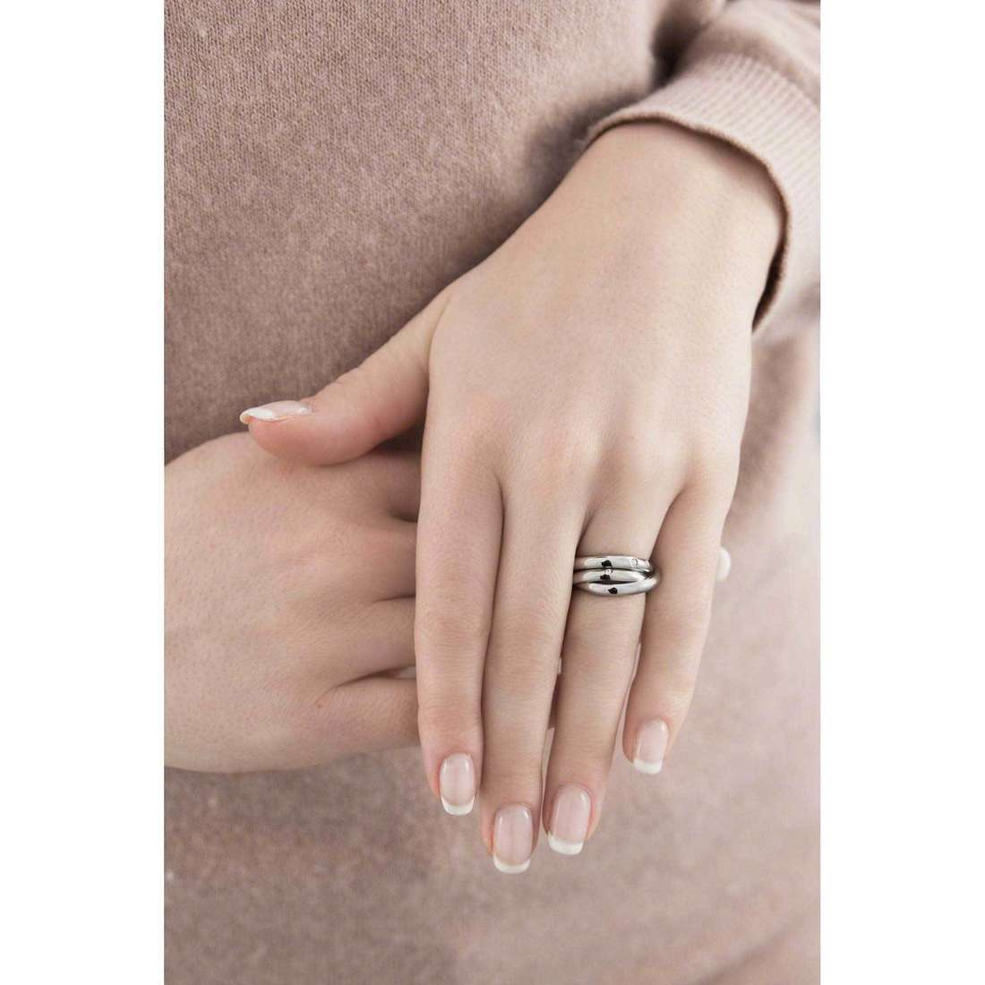 Morellato rings Love Rings woman SNA10012 indosso