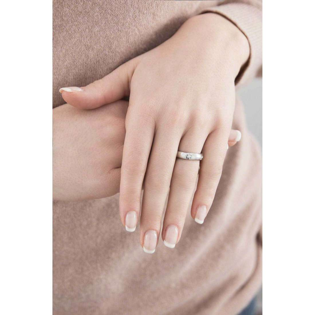 Morellato rings Love Rings woman SNA30014 indosso
