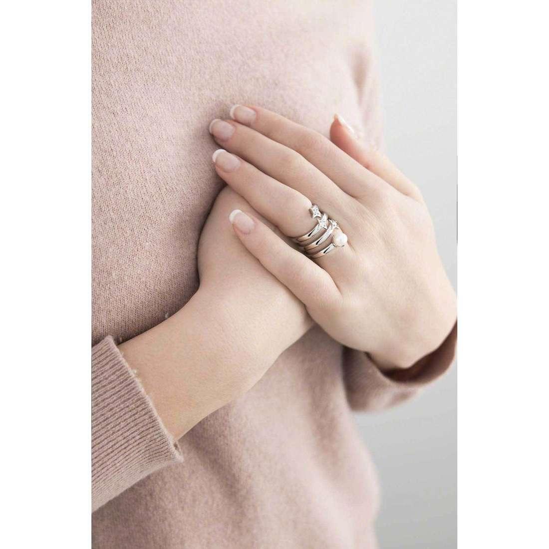 Morellato rings Luci woman SACR10014 indosso