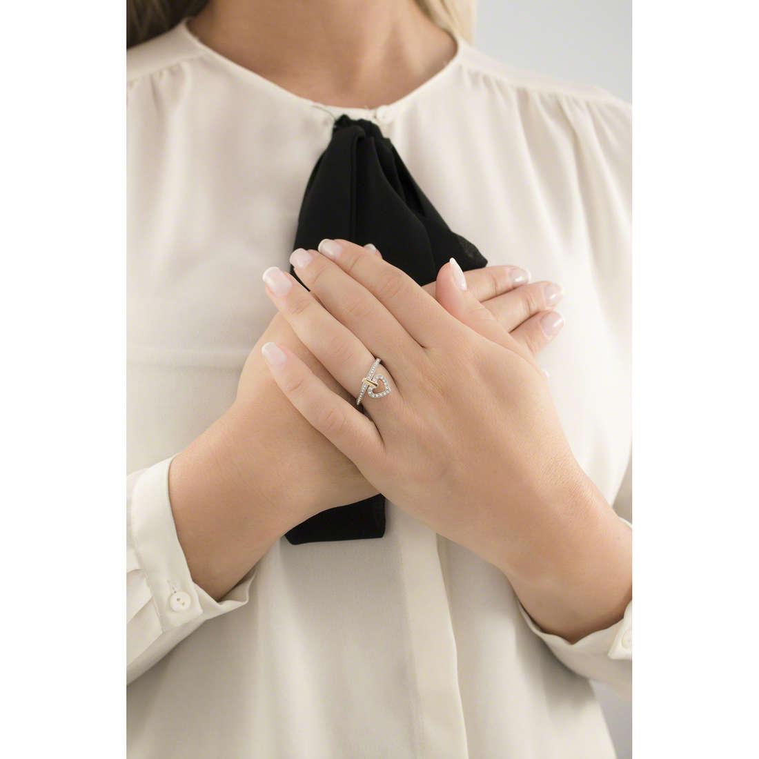 Morellato rings Mini woman SAGG08014 indosso