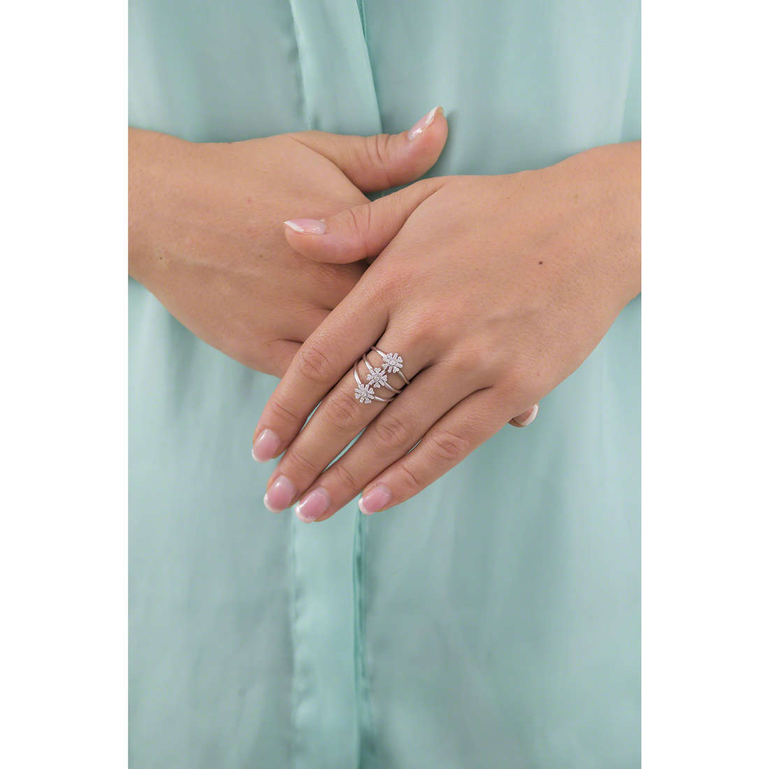 Morellato rings woman SAHK12 indosso