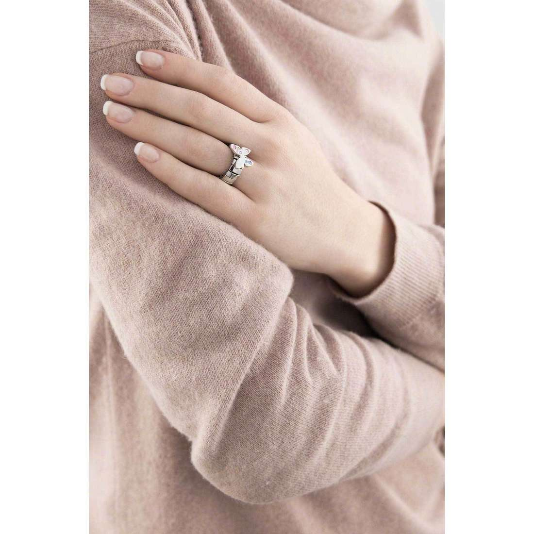 Nomination rings Butterfly woman 021303/001 photo wearing