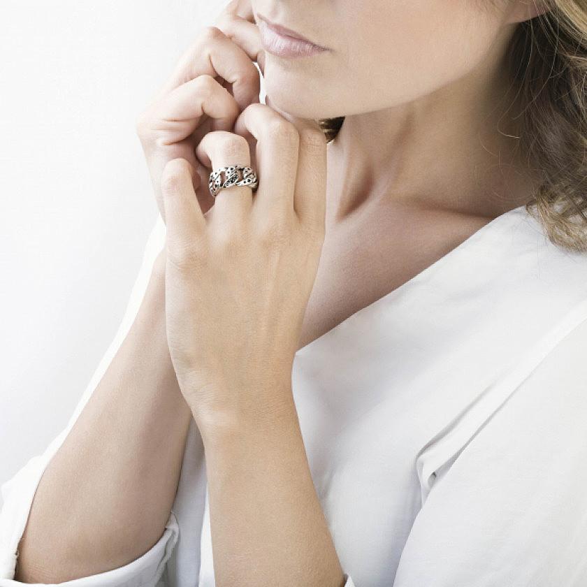Nomination rings Starlight woman 131501/007/022 photo wearing